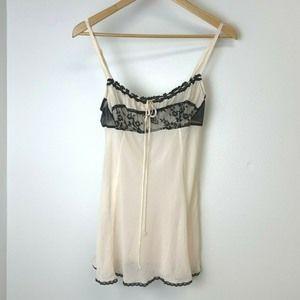 Victorias Secret Size Medium Babydoll Nightwear